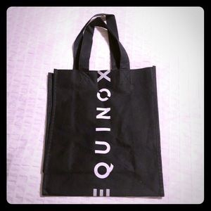 Fabric bag from Equinox clothing boutique